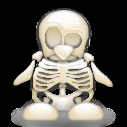 Tux-Skull by Lefoi