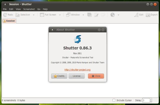 Shutter 0.86.3 telah dirilis