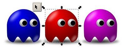 Membuat karakter Pac-Man