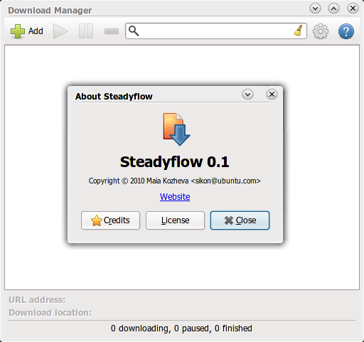 SteadyFlow: Download manager