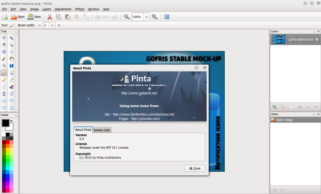 Pinta: Aplikasi pembuat/pengedit gambar yang simple