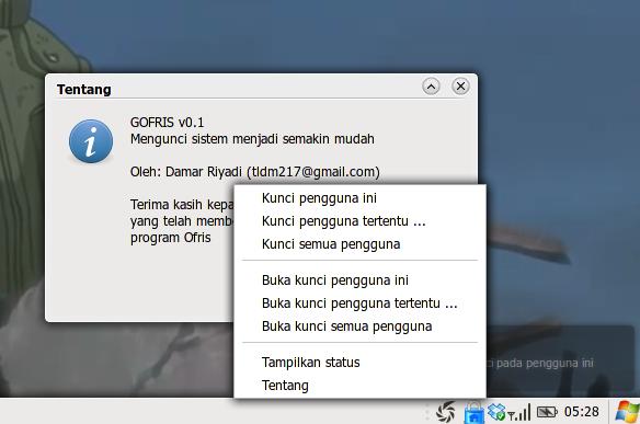 GOFRIS 0.1 stabil telah dirilis