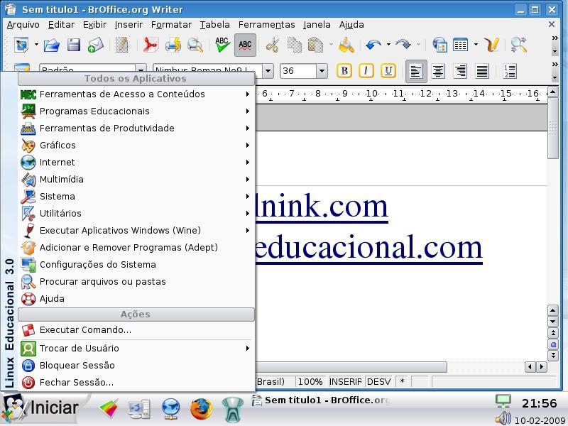 [linux+educacional]