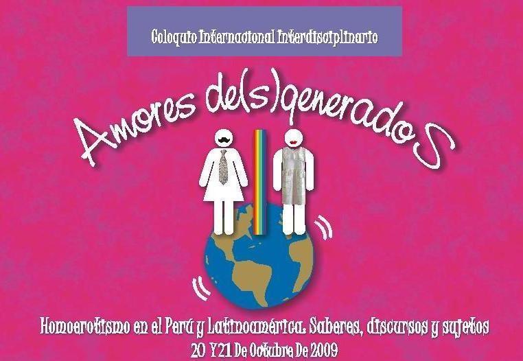 Coloquio Internacional Interdisciplinario Amores De(s)generados