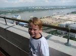 Tyler at the top of the state capitol