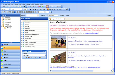 Screenshot Nvivo