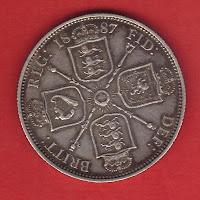 brisitsh silver florin coin