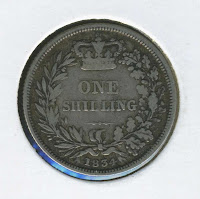 brisitsh silver shilling coin