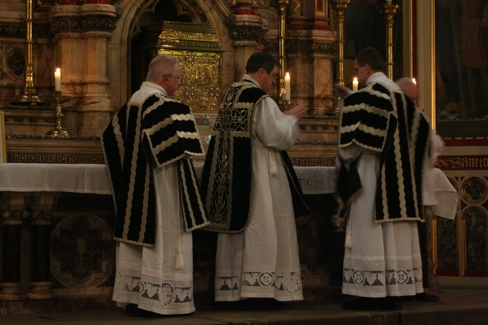 The Latin Mass Society RC Diocese of Middlesbrough: Ushaw Priests Training Conference Day Four ...