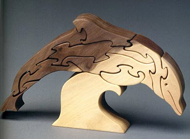 Sherwood Creations Animal Puzzles For The Scroll Saw