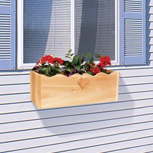 Sherwood Creations Window Sill Railing Planter Article