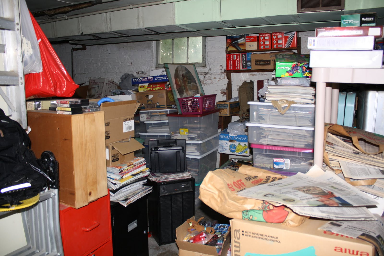 home home organizing tip of the day organize your basement during