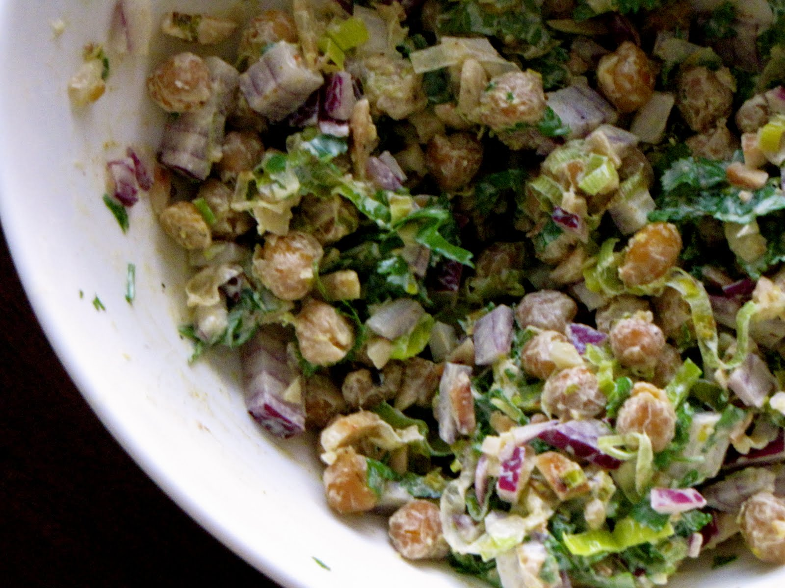 (Chef)uality: Chickpea Salad