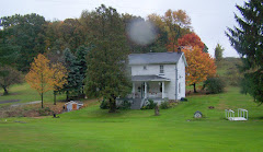 Our country home in the fall of the year.