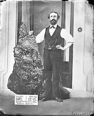 Largest Gold Nugget Ever Found,This is the world's  largest Gold Nugget ever found. Discovered in 1872 and is called the Holtermann  Nugget. It was 630lbs in weight.