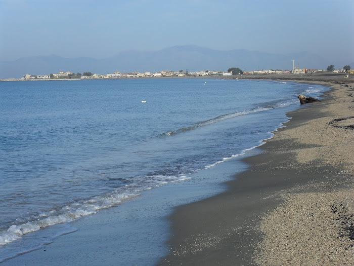 Tratto di spiaggia antistante all'Oasi dei Variconi
