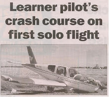 Parafield - Solo Flight Crash