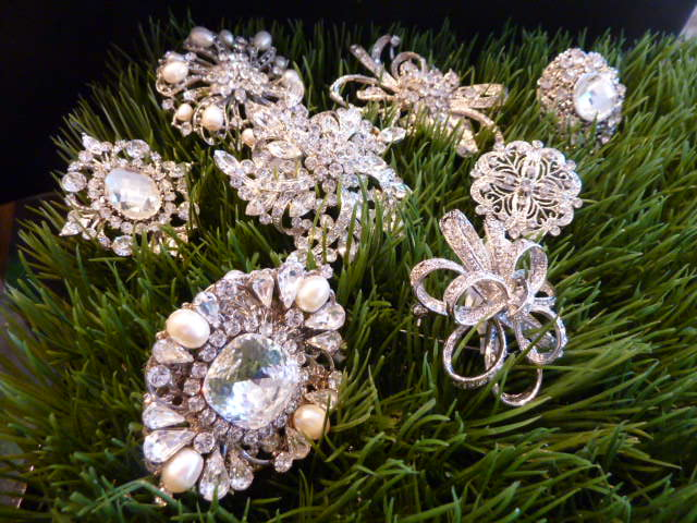 Everything But The Dress: Brooches