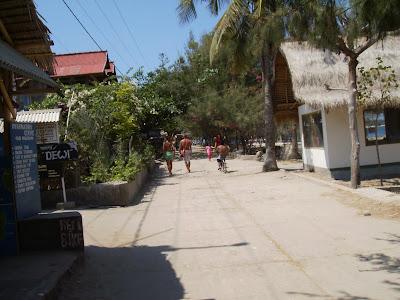 Wisata Gili on Morin Cirebon  Pulau Gili Trawangan
