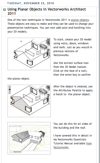 free vectorworks architect tutorial manual