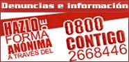 0800-CONTIGO (2668446)