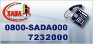 0800 SADA000 (7232000)