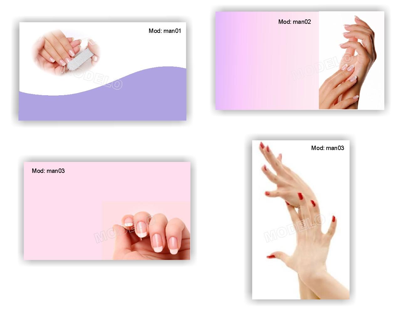 Визитки маникюр шаблоны своими руками