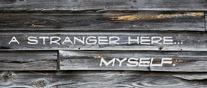 i'm a stranger here myself...