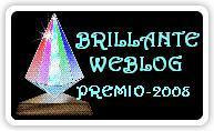 Brilliante Weblog Award 2008