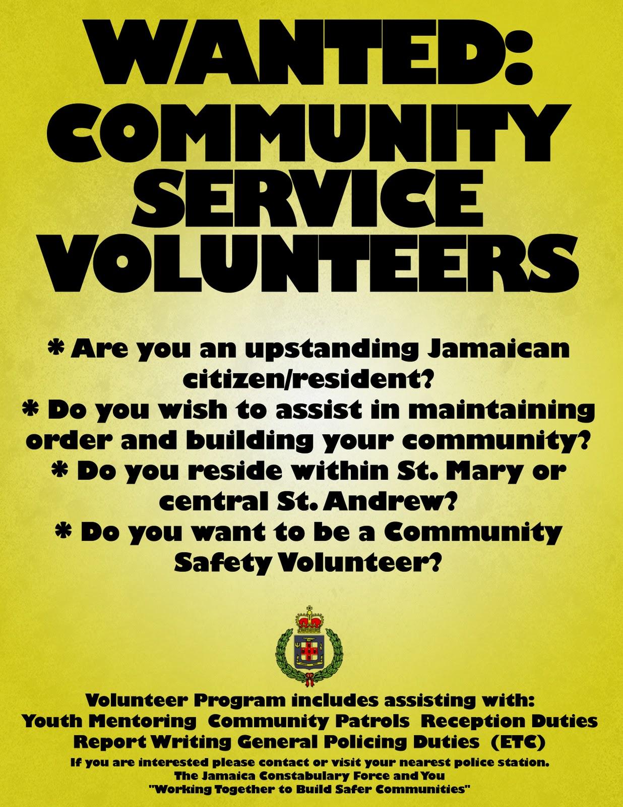 volunteer flyer templates