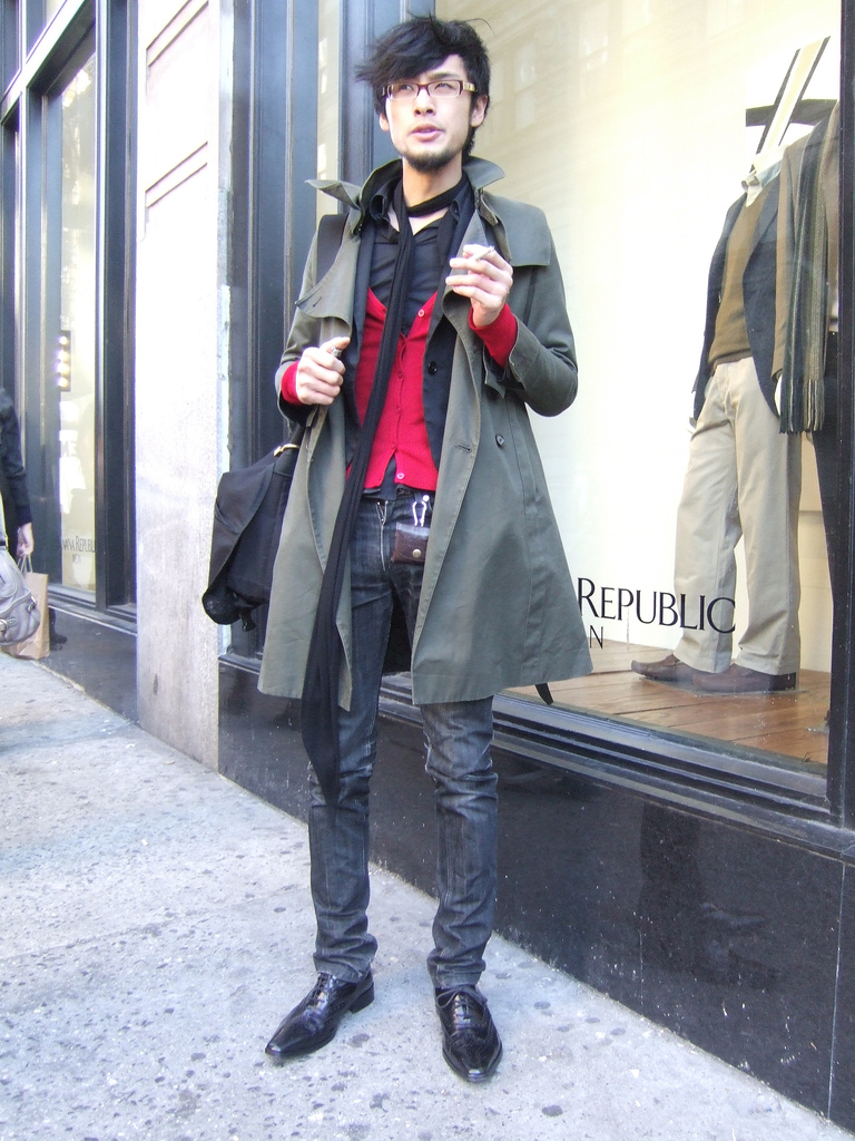 skinny male models for high fashion, its time