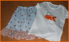 Applique Fish outfit