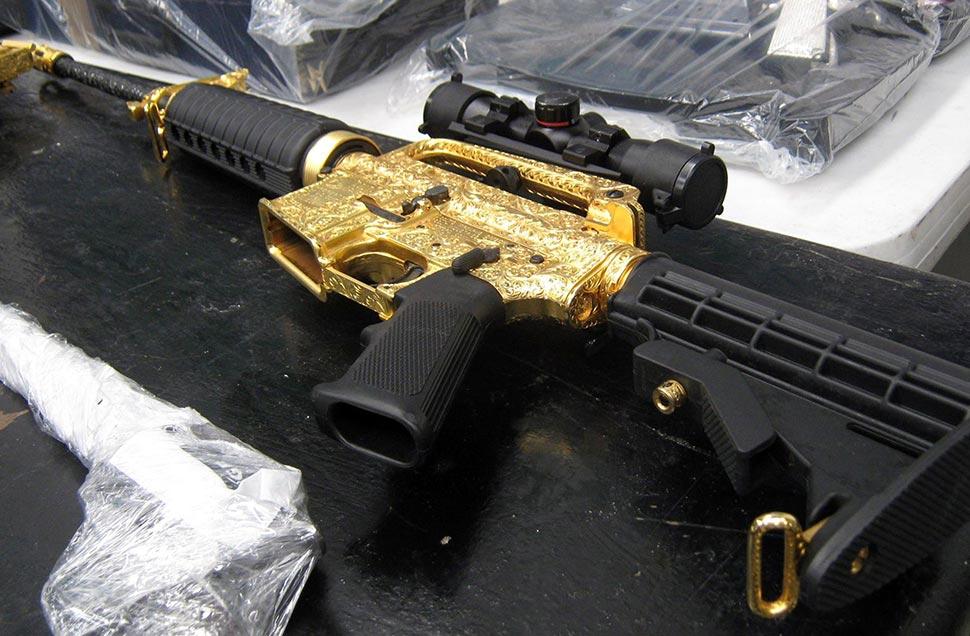 Mexican Mafia Guns