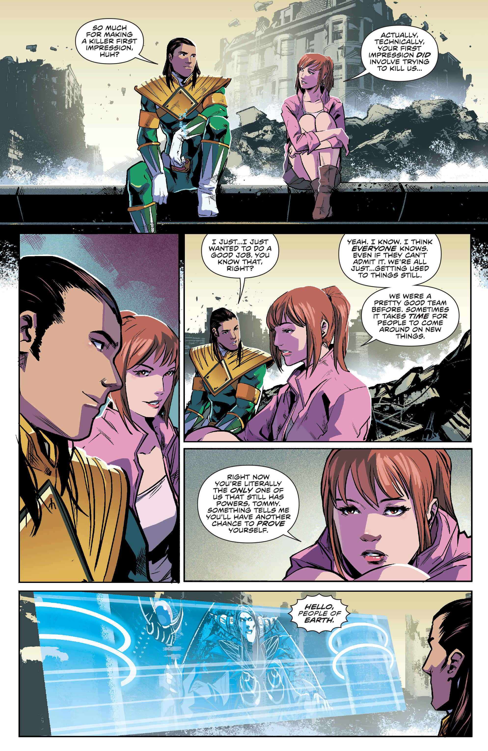 Read online Mighty Morphin Power Rangers comic -  Issue #7 - 10