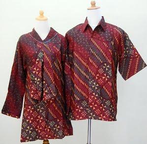 ... Baju Gamis Muslimah: Baju batik sarimbit FRIEDA-1