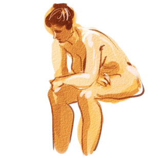 Croquis/Life drawing by illustrator Artmagenta