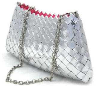 purse made out of wrappers