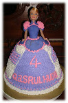 Princess Chubby Doll Cake with Buttercream