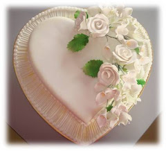Fondant Cake with Gumpaste Flower