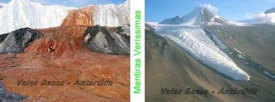Vales Secos na Antartida.
