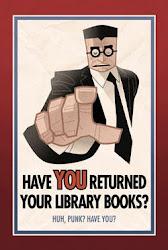 Você devolveu os livros da biblioteca?