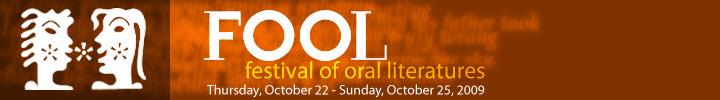 FOOL - festival of oral literatures