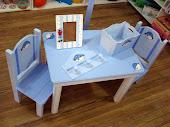 Pequeños muebles infantiles