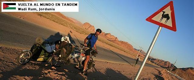 El mundo en tándem - Jordania