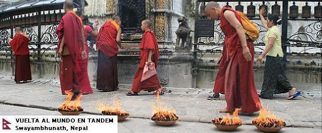 El mundo en tándem - Nepal