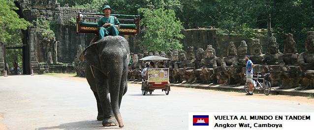 El mundo en tándem - Camboya