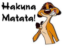 jubaoeste hakuna matata com deus é mais hakuna matata