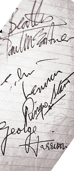 Meet the Beatles? Done that, got the signatures to prove it!