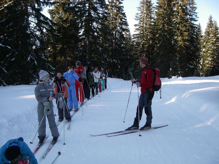 ...sur les traces des Médaillés d'Or des Jeux Olympiques 2010 à Vancouver avec Yves !