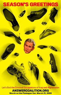 Shoes in Bush